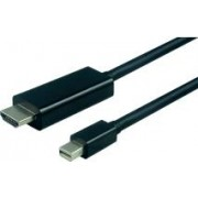 Roline VALUE mini DisplayPort kabel, mini DP M na UHDTV M, 2.0m, 11.99.5796