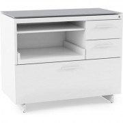 BDI Centro 6417 Multifunction Cabinet with Pull-Out Printer Tray