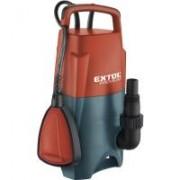Extol Prémium szennyvíz búvár szivattyú, úszókapcsolóval, 400W (8895006)