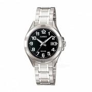 Casio LTP-1308D-1BVDF reloj analogico - plata / negro (sin caja)