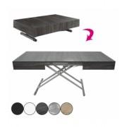 DECOME Table basse design relevable et extensible Cassida - 5 coloris