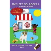 Five Let's GO! Books 1: Systematic Decodable Books Help Developing Readers, including Those with Dyslexia, Learn to Read with Phonics, Paperback/Pamela Brookes