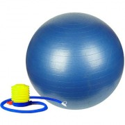 GENERIC Anti-Burst Fitness Exercise Stability Yoga Ball/Gym Ball (85 cm) with Foot Pump (Color May Vary)