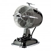 RetroJet table fan, black