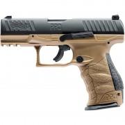 Pistol Umarex CO2 Airsoft WALTHER PPQ M2 T4E FDE CAL 43 8BB 5J