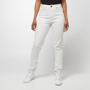 Urban Classics Ladies High Waist Skinny Jeans - Wit - Size: 27/30; female