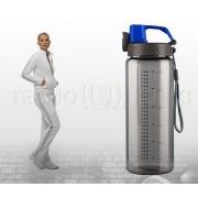 TERMIO Bidon sportowy 600 ml ENERGY (niebieski)