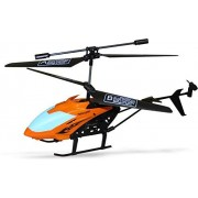 FIZZYTECH Remote Control Helicopter RC Lh-1302 with 3D Lights and Sound Durable King (Orange, Blue)