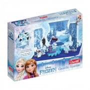 Quercetti Georello Teatru Frozen - Joc creativ cu roti zimtate