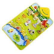 WHYQZ Musical Carpet Touch Play Singing Musical Toy Intelligence Development Toys Farm Animal Music Enlightenment