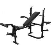 vidaXL Folding Weight Bench