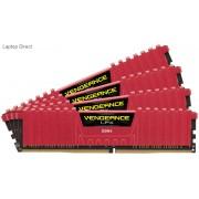 Corsair Vengeance Lpx 64Gb(16Gb x 4) DDR4-2133 (pc4-17000) CL13 1.2v Desktop Memory Module with Red low-profile heatsink