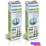 Philips H3 LL EcoVision ( 2 Lâmpadas )