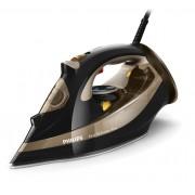 Fier de calcat Philips Azur Performer Plus GC4527/00, Talpă T-ionicGlide, 2600 W, 300 ml, Negru/Auriu