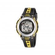 Reloj SYNOKE Impermeable Digital LED Deportes Niño-amarillo