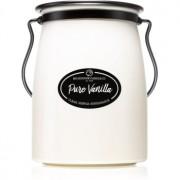 Milkhouse Candle Co. Creamery Pure Vanilla lumânare parfumată 624 g Butter Jar