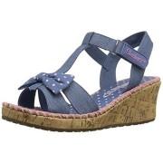 Sandale fetite Skechers Tiki denim