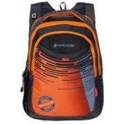 Harissons Rdr 27 L Laptop Backpack(Black, Orange)