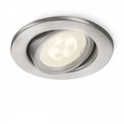 Philips myGarden Fresco InbouwSpot RVS (LED)