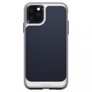 Husa Premium Originala Spigen Neo Hybrid iPhone 11 Pro Max Arctic Silver