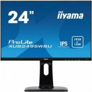 IIYAMA Monitor 24 ProLite XUB2495WSU-B1 IPS,PIVOT,16:10,USB,DP,HDMI,1920x1200