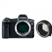 Canon Aparat CANON EOS R Body + Adapter EF-EOS R Czarny