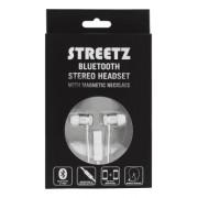 STREETZ Bluetooth in-ear headset, Silver
