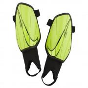 Nike Scheenbschermers Charge Guard Volt - Geel - Size: Small