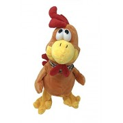 The Gags-Wacky Cluckin Chicken Toy-Dancing-Twerking-Jerking-Choking Chicken-Hilarious Animated Crazy Chicken-Grab His Neck or Press His Hand!! He stands 15 Inches Tall.