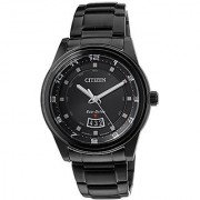 Citizen Eco-Drive Analog Black Dial Mens Watch - Aw1284-51E
