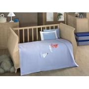Kidboo Постельное белье Kidboo Blue Marine (4 предмета)
