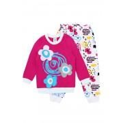 Pijama fetite Flower Rose multicolor 104