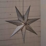 BEST SEASON Estrella de papel Huss punteada 60 cm gris