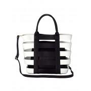 Collezione Alessandro 2-tlg. Handtaschenset, Damen, bicolor, aus hochwertigem Softmaterial