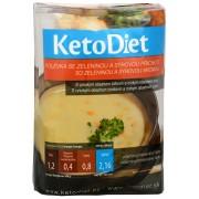 KetoDiet Proteinová polévka se zeleninou a sýrovou příchutí 7 x 27 g