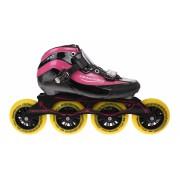 Tempish GT 500 100 Inline Speed Skates dames zwart/roze maat 37