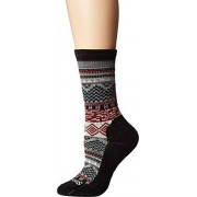 Smartwool Women's Dazzling Wonderland Crew (Black) Medium