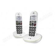 DORO TELEPHONE SANS FIL DORO PHONEEASY 110 DUO WHITE
