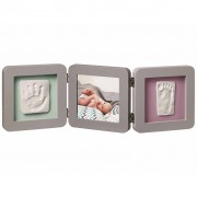 Baby Art My Baby Touch Double Print Frame Grey 34120139