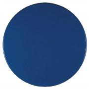 Werzalit plus Werzalit Pre-drilled Round Table Top Deep Blue 600mm