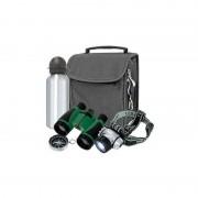 Bresser Junior Binoculares Set para exploradores Junior con prismáticos y cantimplora