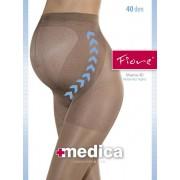 Fiore Tunn strumpbyxa för gravida Mama 40 DEN tan 2