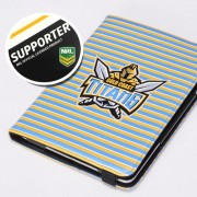 NRL Licensed Gold Coast Titans PU Leather Wallet Case for iPad Air 2