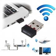 Mini Portable Wireless USB Dongle KR08EE - 150Mb/s - Black