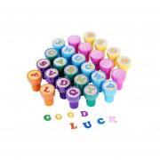 Pixnor 26pcs Multicolor De La Letra De Plástico Sellos Juguete Para El Cabrito (A A Z)