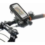 Suport Telefon Esperanza EMH116 Sand XL pentru bicicleta 82x160mm Negru