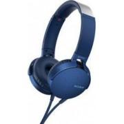 Casti audio Sony MDRXB550APB EXTRA BASS Difuzor neodim 30mm Albastru