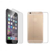 Folie Sticla Set Fata + Spate iPhone 6 si 6S Protectie Antisoc Tempered Glass