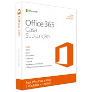 Office 365 Home Portuguese EuroZone Subscr 1YR Medialess P2