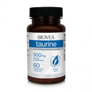TAURINE 500mg 60 Vegetarian Capsules